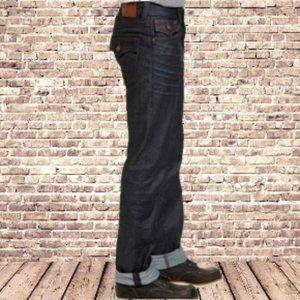 TRUE RELIGION 42 329$ Dark Rigid Denim Ricky Jeans